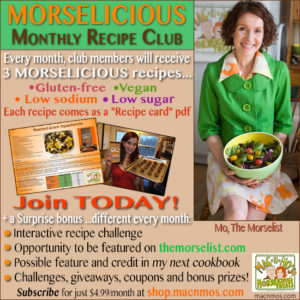 Morelicious Monthy Recipe Club