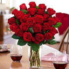 2 dozen red roses - Red Envelope