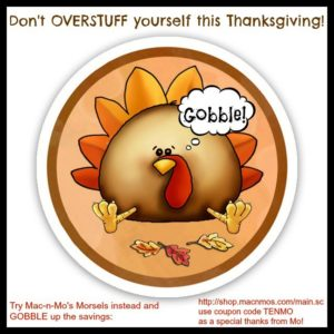 Morselfy your Thanksgiving, diabetes, savings & a silly song