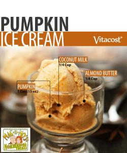 "Mo's Pumpkin Almond Ice-""Cream"""