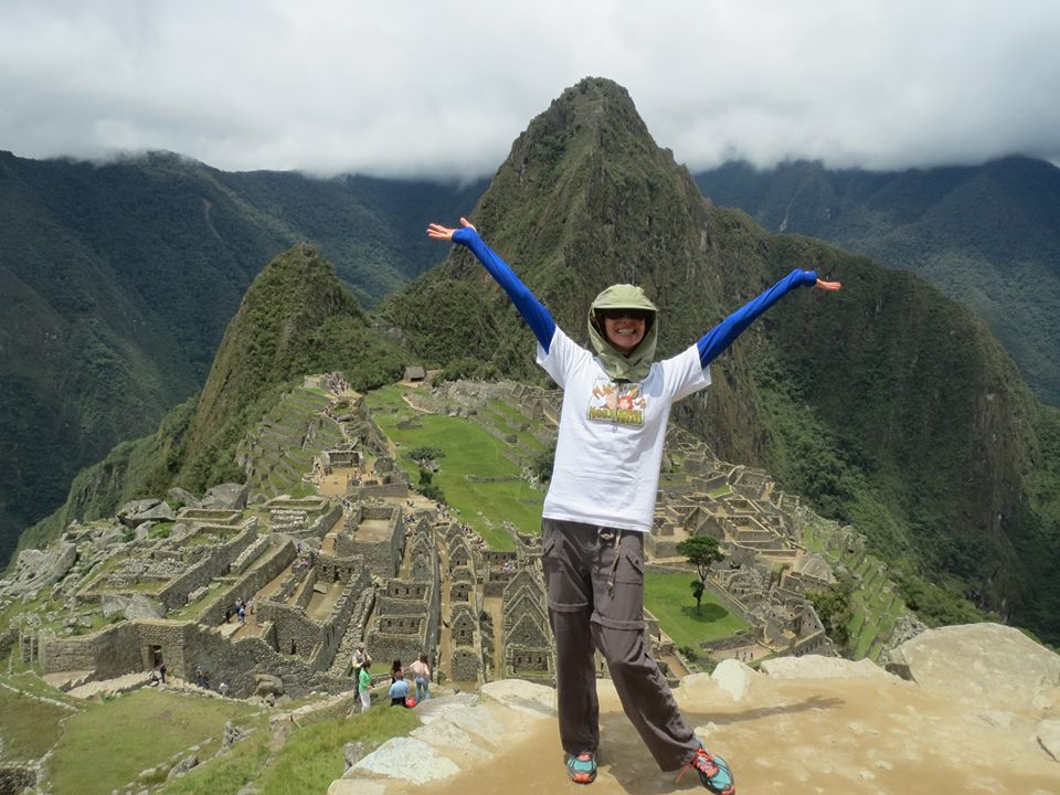 Mo in Machu Picchu, Peru