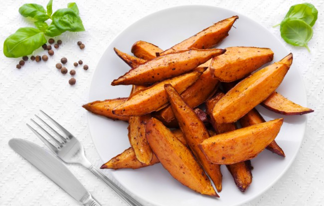 MORSELICIOUS Spicy Sweet Potatoes