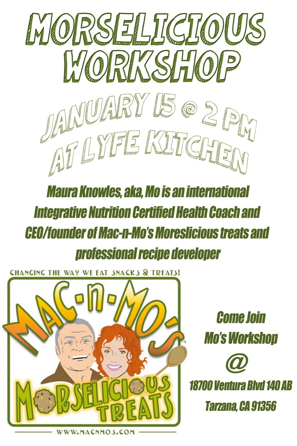Morselicious Workshop-LYFE Kitchen